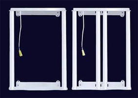 LED Retrofits replace linear fluorescent troffers.