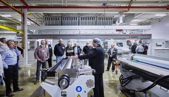 BOBST Demonstrates CL 1000D Laminator at Open House in the Production Facility of American Customer Clear Lam Packaging, Inc.