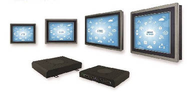 Panel PCs use projected capacitive touch technology.