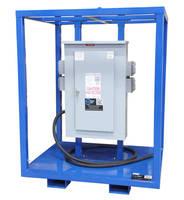 Mobile Power Distribution Center energizes remote area equipment.
