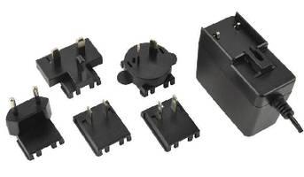 AC-DC Power Supplies feature interchangeable input blades.