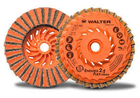 Flap Discs enable one-step prep-to-paint finishing.