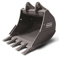Severe-Duty Crawler Excavator Buckets handle abrasive materials.