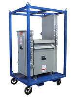 Step-Down Power Distribution Cart serves heavy-duty applications.