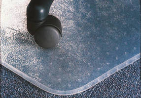 Desk Chair Floor Mat increases worker mobility and comfort.