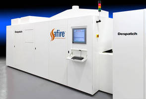 Major Solar Manufacturing Plant Expansion in China to Utilize Despatch's Safire Firing Furnaces