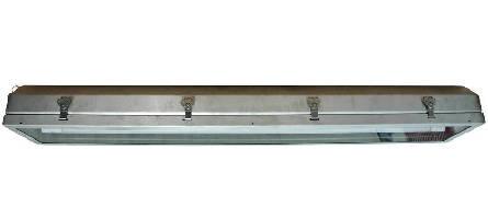 Fluorescent Light Fixture resists corrosion.