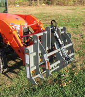 Mini Grapple is available for sub-compact tractors.