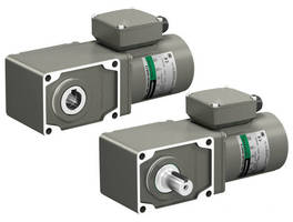 AC Motor (3-Phase) comes in 200 W version with hypoid gear.