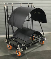 Saddle Cart provides flexible part handling for manufacturers.