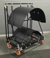 Saddle Cart provides flexible part handling for manufacturers.