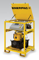 Synchronous Lift System uses digitally controlled hydraulics.
