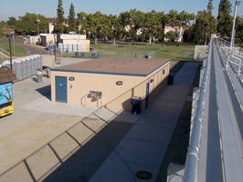 Fast Installation for New Restroom Building at Fresno State University Stadium
