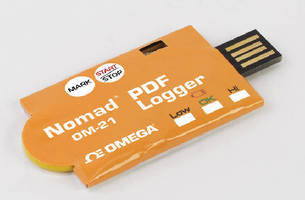 Temperature Data Logger suits cold chain applications.