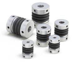 Bellows Couplings absorb vibration and allow misalignment.