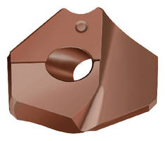 Point Drill Insert supports drilling of cast materials.