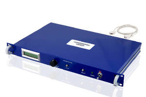 Variable Gain RF Amplifier covers 100 MHz to 18 GHz range.