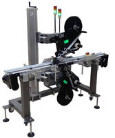 Top and Bottom Labeling System offers high throughput.