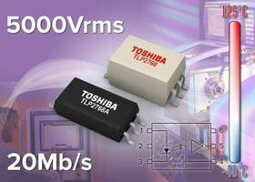 High-Speed Photocoupler withstands extreme temperatures.