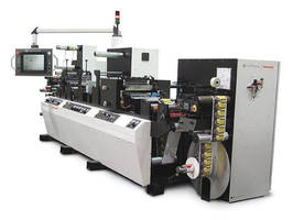Label Finisher meets digital, conventional printed web needs.
