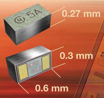 BiSy Single-Line ESD Protection Diodes have 3.3 V working range.