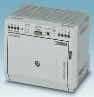 Uninterruptable Power Supply (24 V DC) measures 110 x 90 x 84 mm.