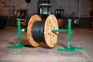 Reel Stand features 6,000 lb capacity.
