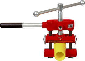 PE Squeeze-Off Tools are available with metric stops.