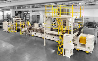 PTi's 'Dryer-Less' Sheet Extrusion System Converts Mixed Regrind Into High-Quality Thermoformed Sheet