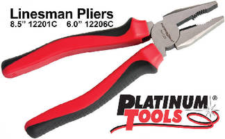 Lineman's Pliers feature comfort grip handle.