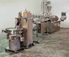 Pelletizer Systems feature pharmaceutical-grade design.