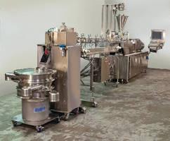 Pelletizer Systems feature pharmaceutical-grade design.