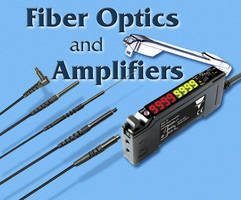 Fiber Optic Sensors provide application flexibility.