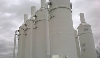 FiberSystems Uses FRP Composites To Restore and Rebuild Packed Tower Aeration Systems