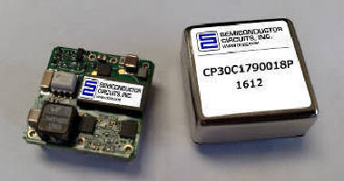 DC-DC Converter delivers 30 W at 3.3 Vdc output.