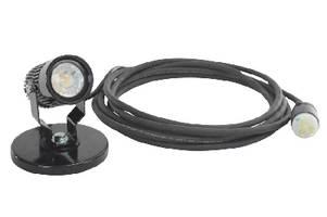 LED Spotlight produces 1,530 lumens.