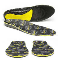 Protective Insoles provide cushioning comfort and support.