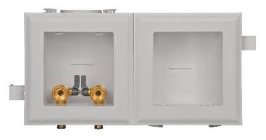Plumbing Outlet Box suits recessed applications.