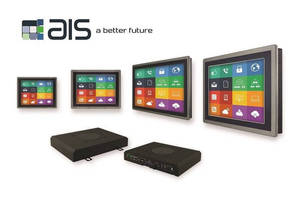AIS Modular HMI Panel PC Systems Designed with Industrial IoT and Industry 4.0 Open Standards for MES and EMI Software and Service Applications