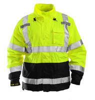 Jacket and Pant conform to ANSI/ISEA 107 standard.