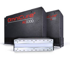 UV LED Curing Systems accelerate line speeds.