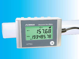 Transit Time Ultrasonic Flowmeter measures clean liquids.