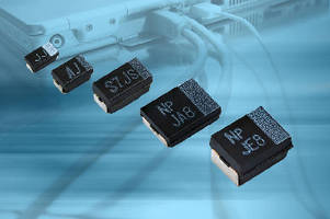 Polymer Tantalum Chip Capacitors are rated to 25 V.
