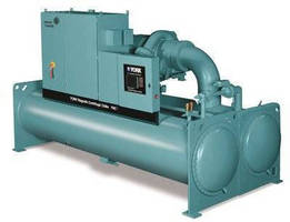 Magnetic-Bearing Centrifugal Chiller has energy-efficient design.