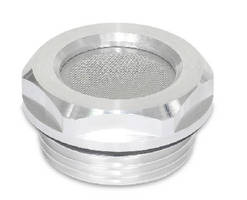 Breather Strainers equalize pressure in enclosures.