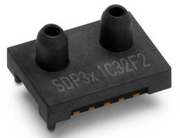 Digital Differential Pressure Sensor measures 5 x 8 x 5 mm.