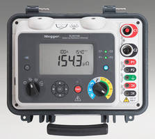 Li-Ion Powered Digital Ohmmeters test resistance with up to 100 A.