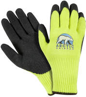 Protective Gloves offer slip-resistant grip in icy environments.