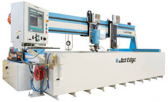 Jet Edge's EDGE X-5 5-Axis Waterjet Designed for Heavy Duty Industrial Use