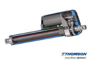 Linear Actuators offer flexible onboard electronics.